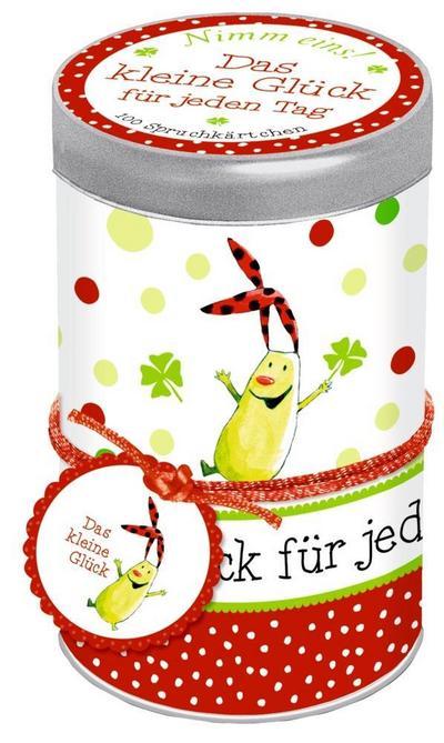 Sprüchedose - Nimm eins! Das kleine Glück für jeden Tag: 100 Spruchkärtchen - Coppenrath - Karten, Deutsch, Katja Reider, 100 Spruchkärtchen, 100 Spruchkärtchen