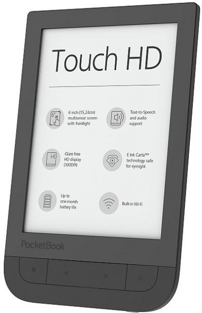 PocketBook PB631-E-WW eBook-Reader (15,2 cm (6 Zoll) Touch HD, 8GB) schwarz - Pocketbook - Personal Computers, Deutsch, , ,