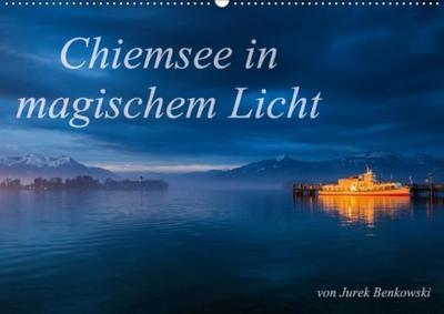 Chiemsee in magischem Licht (Wandkalender 2017 DIN A2 quer)