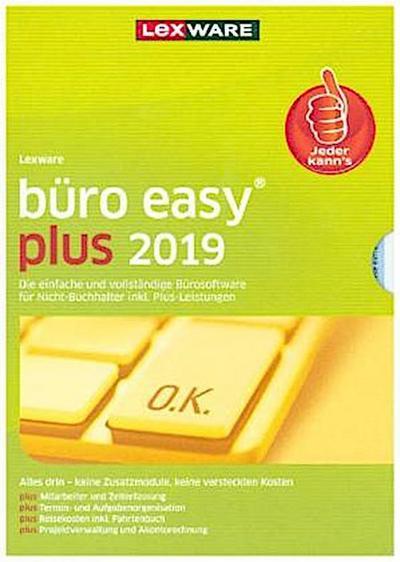 Lexware büro easy plus 2019, 1 DVD-ROM