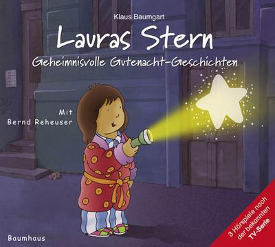 Lauras Stern –  1 Audio-CD Geheimnisvolle Gutenacht-Geschichten