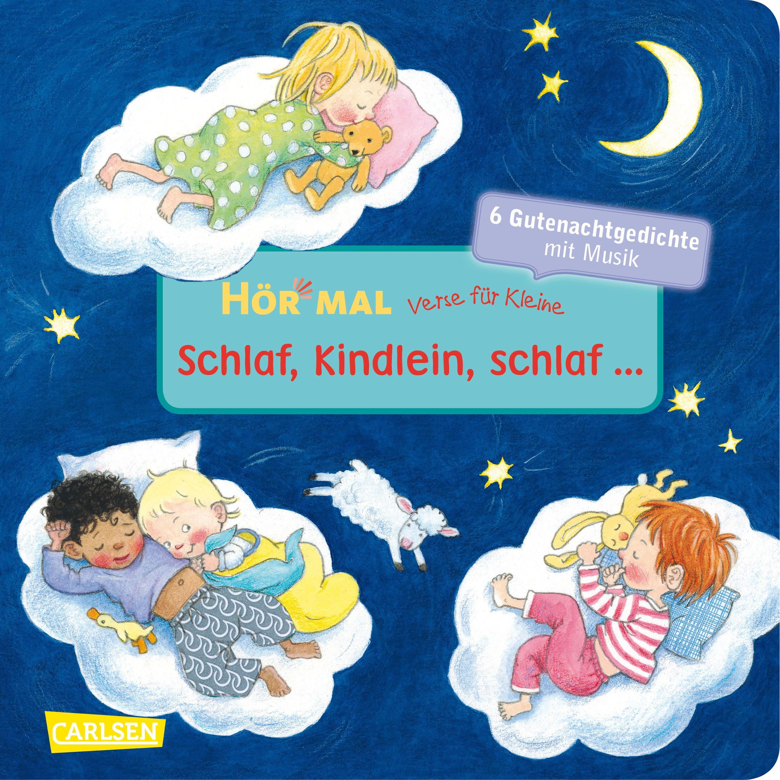 Verse-fuer-Kleine-Schlaf-Kindlein-schlaf-Doris-Ruebel