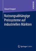 Nutzungsabhängige Preissysteme auf industriel ...