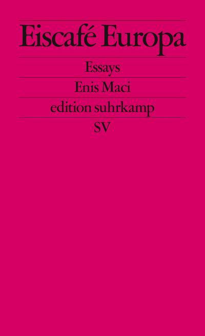 Eiscafé Europa: Essays (edition suhrkamp)