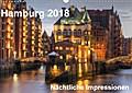 9783665915735 - Thomas Seethaler: Hamburg - Nächtliche Impressionen (Wandkalender 2018 DIN A3 quer) - Hamburg - die Perle des Nordens (Monatskalender, 14 Seiten ) - 書