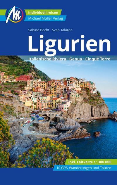 Ligurien Reiseführer Michael Müller Verlag  Italienische Riviera, Genua, Cinque Terre  Deutsch  203 farb. Fotos