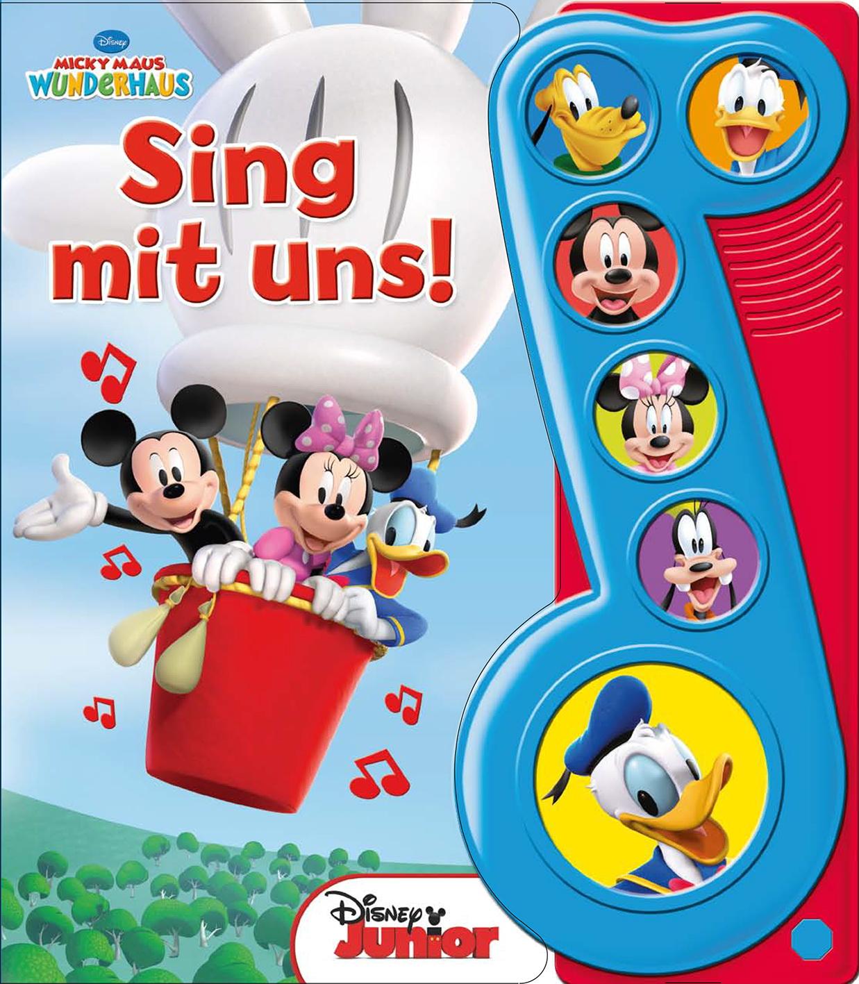 Walt Disney / Micky Maus Wunderhaus - Sing Mit Uns, M. Tonmodulen9781450891103