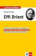 "Lektürehilfen Theodor Fontane ""Effi Briest"""