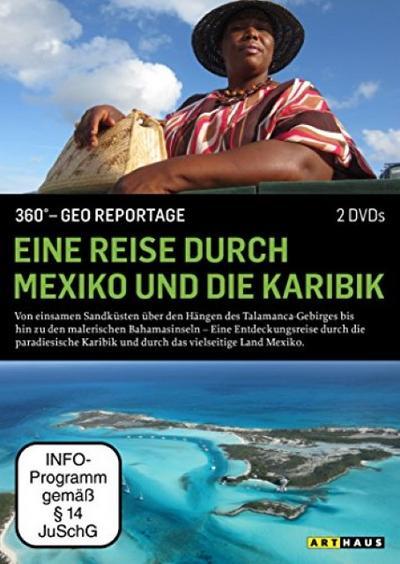 360° - GEO Reportage: Eine Reise durch Mexiko und die Karibik [2 DVDs] - STUDIOCANAL - DVD, Deutsch, , 360° GEO Reportage, 360° GEO Reportage