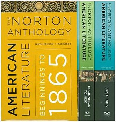 The Norton Anthology of American Literature, Beginnings to 1865
