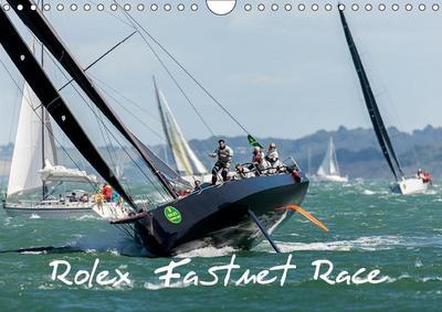 Rolex Fastnet Race (Wall Calendar 2019 DIN A4 Landscape)
