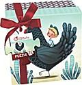 Puzzle Geschenk-Box Spiel Huhn