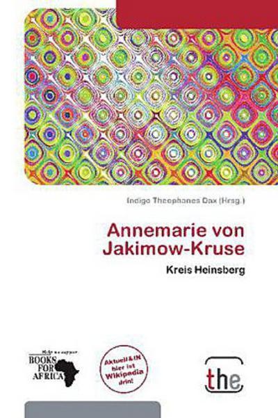 ANNEMARIE VON JAKIMOW-KRUSE