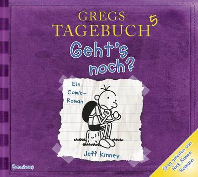 Gregs Tageb - Gehts CD