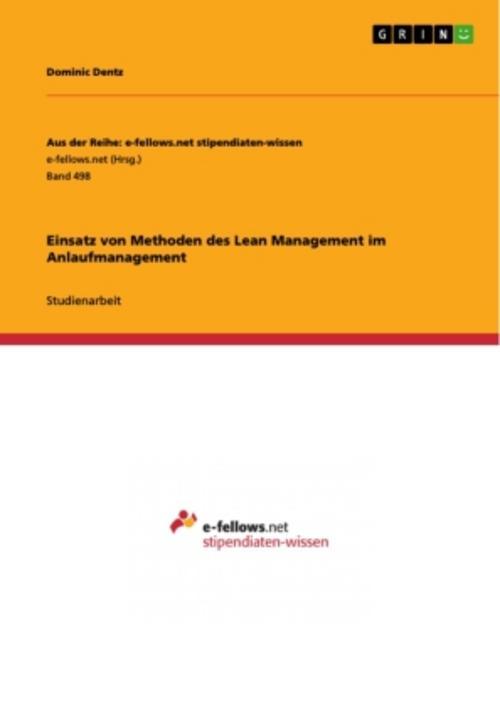 Einsatz-von-Methoden-des-Lean-Management-im-Anlaufmanagement-9783656258131