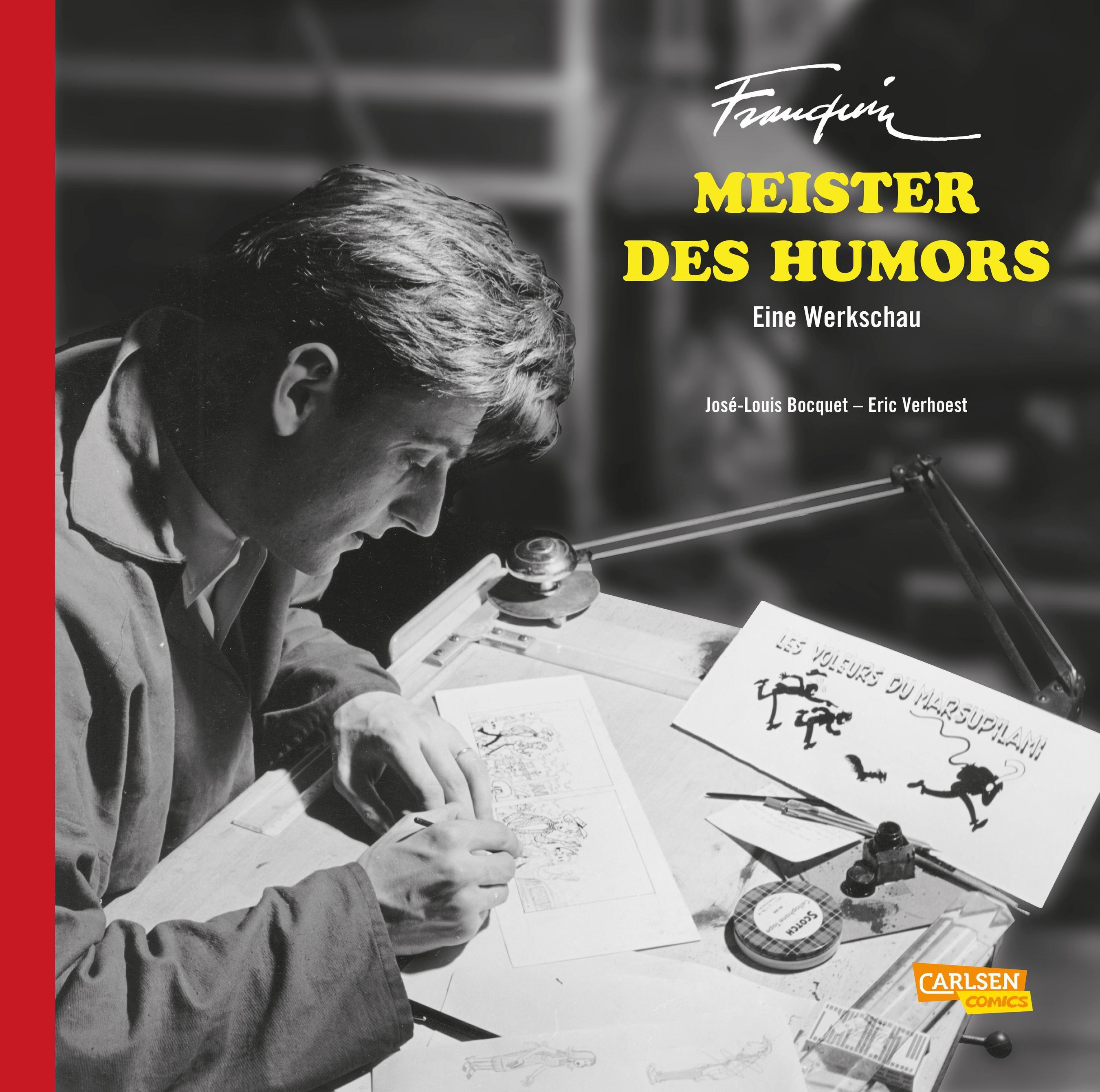 Jose-Louis-Bocquet-Franquin-Meister-des-Humors-Eine-Werkschau9783551714299