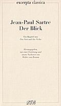"""Der Blick: Ein Kapitel aus """"Das Sein und das  ..."""