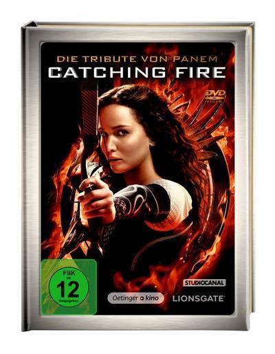 Die Tribute von Panem - Catching Fire (nur für den Buchhandel) - Verlag Friedrich Oetinger - DVD, Deutsch, Suzanne Collins, USA, USA