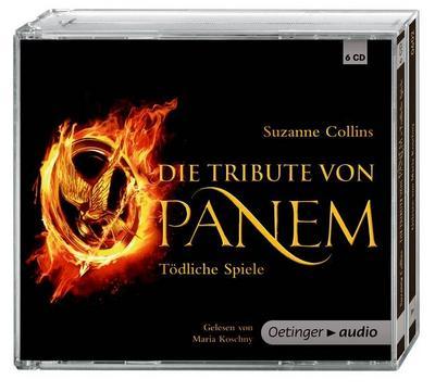 Die Tribute von Panem. Tödliche Spiele (6 CD): Gekürzte Audioversion, Sonderausgabe