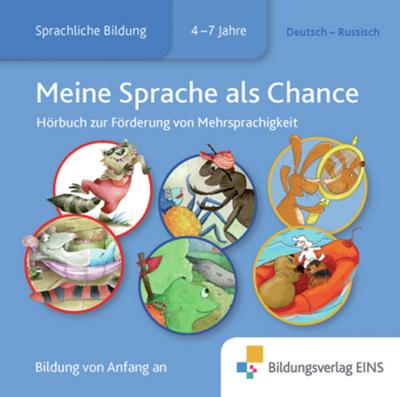 Meine Sprache als Chance: Russisch - Deutsch: Audio-CD - Hörbuch - Westermann Lernspielverlage - Audio CD, Deutsch| Russisch, Gila Hoppenstedt, ,
