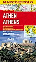 MARCO POLO Cityplan Athen 1 : 15.000