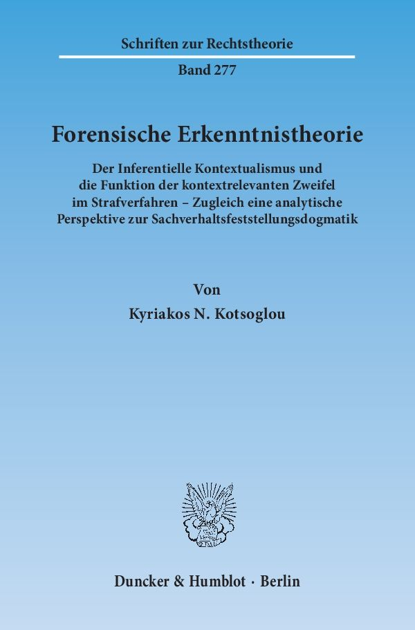 Forensische-Erkenntnistheorie-Kyriakos-N-Kotsoglou