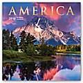 America - Amerika 2018 - 18-Monatskalender mit freier TravelDays-App