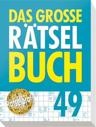 Das große Rätselbuch 49: Auch mit Sudoku - Naumann & Göbel - Taschenbuch, Deutsch, , Auch mit Sudoku, Auch mit Sudoku