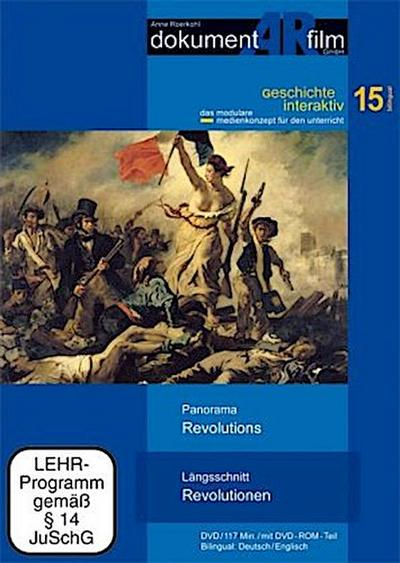 Längsschnitt Revolutionen / Panorama Revolutions, 1 DVD - Dokumentarfilm - DVD, Deutsch| Englisch, Anne Roerkohl, Deutsch/Englisch. Mit DVD-ROM-Teil, Deutsch/Englisch. Mit DVD-ROM-Teil