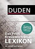 Duden - Das Profi-Kreuzworträtsel-Lexikon mit ...