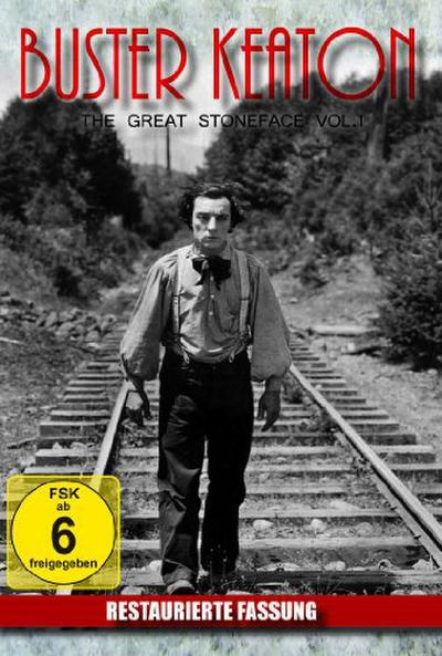 Buster Keaton - The Great Stoneface Vol. 1 - KNM Home Entertainment Gmbh - DVD, Deutsch, Buster Keaton, SW-Film, SW-Film