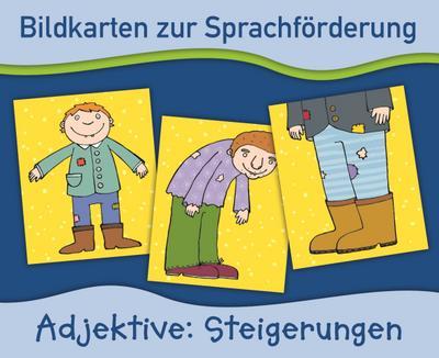 Adjektive: Steigerungen (Bildkarten zur Sprachförderung) - Verlag An Der Ruhr - Karten, Deutsch, Anja Boretzki, ,