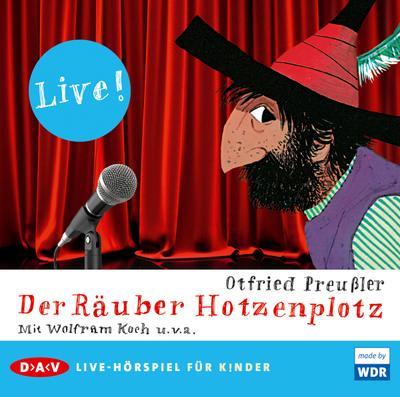 Der Räuber Hotzenplotz - Live!: Live-Hörspiel (1 CD)