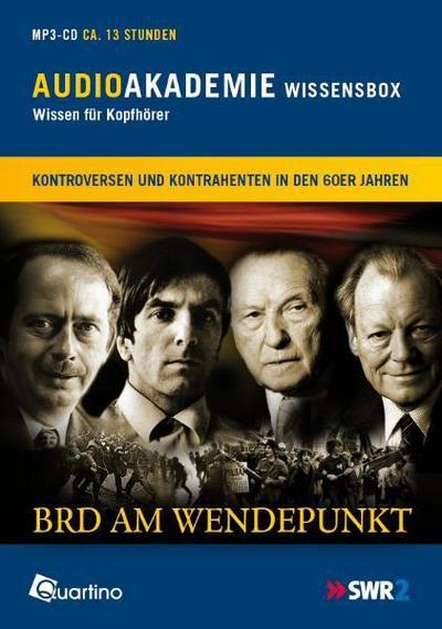 BRD am Wendepunkt: AudioAkademie Wissensbox 2 - Quartino - MP3 CD, Deutsch, , AudioAkademie Wissensbox 2, AudioAkademie Wissensbox 2