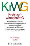 Kreislaufwirtschaftsgesetz (KrWG) (dtv Beck T ...