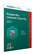 Kaspersky Internet Security 2017 3 Lizenzen (Code in a Box) (FFP). Für  Windows Vista/7/8/10