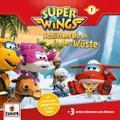 Super Wings 01. Schlittenfahren in der Wüste