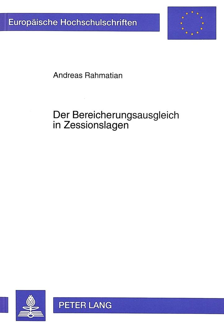 Der-Bereicherungsausgleich-in-Zessionslagen-Andreas-Rahmatian