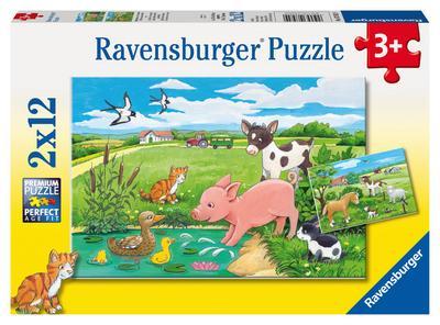 Ravensburger 07582 - Tierkinder auf dem Land - Ravensburger Spielverlag - Spielzeug, Deutsch, , ,