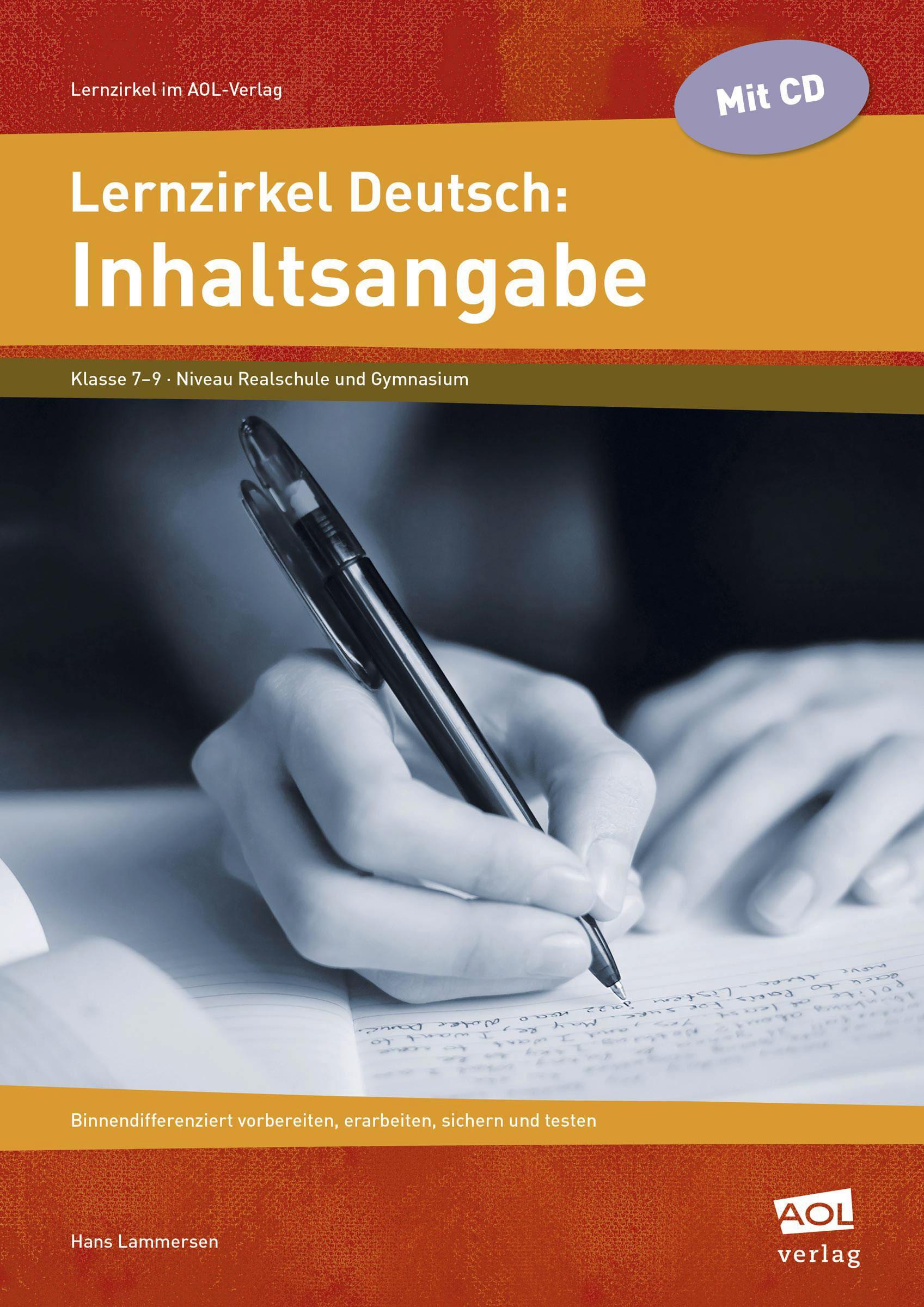 Lernzirkel-Deutsch-Inhaltsangabe-Hans-Lammersen