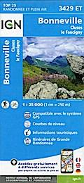 Bonneville - Cluses - Le Faucigny 1:25000