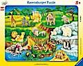 Zoobesuch (Rahmenpuzzle)