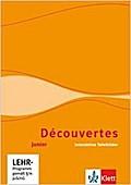 Découvertes Junior.  Interaktive Tafelbilder. CD-ROM Einzellizenz. Klasse 5 und 6