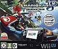 Nintendo Wii U Premium black + Mario Kart 8,  ...