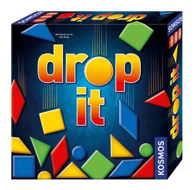 KOSMOS Spiele 692834 - drop it - Kosmos Verlags-Gmbh & Co - Spielzeug, Deutsch, Bernhard Lach, Uwe Rapp, ,