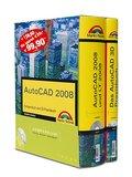 AutoCAD 2008-Schuber: Kompendium und 3D-Praxisbuch (Kompendium / Handbuch) by...