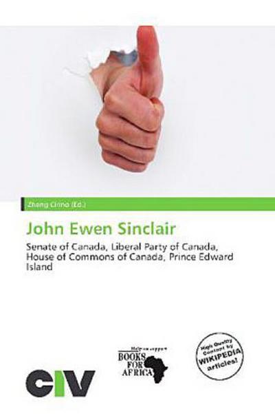 JOHN EWEN SINCLAIR