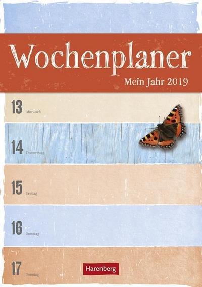 Wochenplaner Mein Jahr - Kalender 2019 - Athesia Kalenderverlag Gmbh - Kalender, Deutsch, , ,
