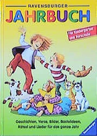 ravensburger-jahrbuch-2002-geschichten-verse-bilder-bastelideen-ratsel-und-lieder-fur-das-ganze