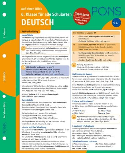 pons-deutsch-auf-einen-blick-6-klasse-kompakte-ubersicht-grammatik-kommunikation-wortschatz-u